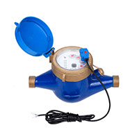 Water meters for pulse output